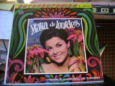 ORIG SEALED STEREO MEX LATIN LP~MARIA DE LOURDES~CONSEJO TURISMO~HEAR IT