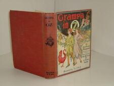 GRAMPA IN OZ By L. FRANK BAUM 1924 color plates pres