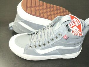 Vans Women's Sk8-Hi Mte 2.0 Dx All Weather Boots Frost Grey Marshmallow Size 7