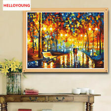 Diamond Painting DIY 5D Diamond Embroidery Abstract Woods Stitch Picture Mosaic