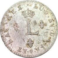 S5871 USA Colonial 2 Sols Louis XV 1762 BB Strasbourg - Faire Offre