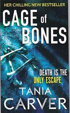 Cage of Bones,Tania Carver, Book, New Paperback