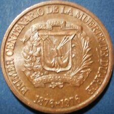DOMINICAN REPUBLIC 1 CENTAVO 1976 Dominicana Dominikanische Dominicaine Dom Rep