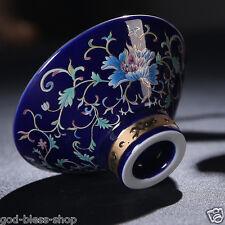 traditional craft boutique tea cup flower relief Jingdezhen porcelain cup of tea