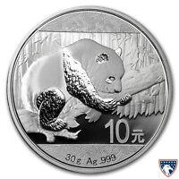 2016 30 Gram Chinese Silver Panda Coin BU - SKU 0156
