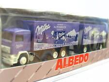 Albedo Volvo Kofferhängerzug Milka Alpenmilch OVP (N1268)