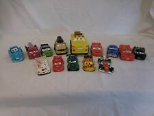 Disney Pixar Cars Vehicles- Huge Lot 14 different Cars- Great lot!