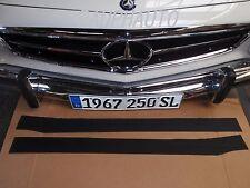 Mercedes 230SL 250SL 280SL Threshold Rubber Mat set