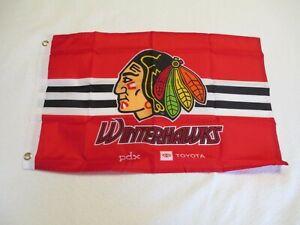 Portland Winterhawk Flag