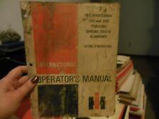 Ih International Harvester 354/356 Trailing Spring Tooth Harrow Operator Manual