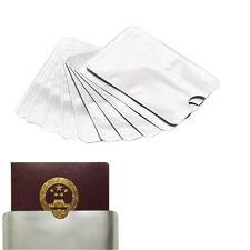 10PCS Anti Scan Blocking Sleeve for Credit Card RFID Holder Skin ca