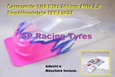 Carrozzeria Body 1/10 BLITZ ALTIS 2.3 200mm Semi Paint Orange Fluo T60109SP