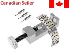 Metal Adjustable Watch Band Strap Bracelet Link Pin Remover Repair Tool Kit New