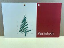30+Anni Vecchio Marchio Oddity! Leggere! Apple Macintosh 2-sided Dealer Display