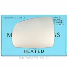 PLATE RIGHT OR LEFT WING MIRROR GLASS HEATED FITS NISSAN NOTE 2006