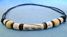 Hand made surfer necklace adjustable size boys girls  N0392