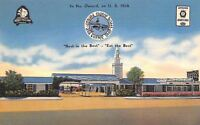 Oxnard California~Motor Hotel & Coffee Shop~Roadside Motel~US 101A~Linen