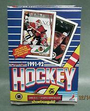 1991-92 O-Pee-Chee [Canada] NHL Hockey BOX