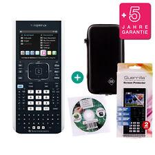 TI Nspire CX Taschenrechner Grafikrechner + Schutztasche/-Folie Lern-CD Garantie