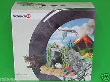 Schleich 42261 Dinosaurierset mit Höhle