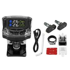 TPMS Motorcycle Wireless Tire Pressure Monitoring System With 2 Built-in Sensors