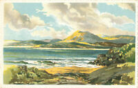 Rare Scenic Lovely Postcard 'The Mountains of Mourne', Northern Ireland Unposted