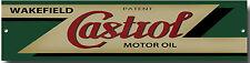 CASTROL OILS METAL GARAGE SIGN.CLASSIC CASTROL OILS.