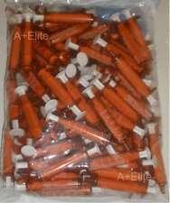 BAXTER BAXA ExactaMed Amber Oral Medicine Syringe Dispenser 5cc/5mL + Caps -100-