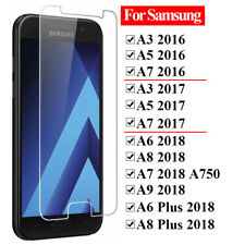 Premium Tempered Glass Screen Protector For Samsung Galaxy A3 A5 A7 2016 / 2017