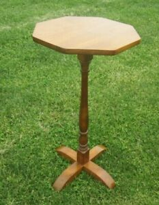 Octagonal COHASSET HAGERTY Side Table Mid Century Scandinavian Design