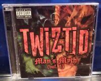 Twiztid - Man's Myth CD / DVD insane clown posse esham blaze ya dead homie icp