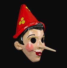 Masque de Venise de Pinocchio en papier maché -pour collection Bal Carnaval  480