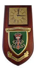 29 Commando Royal Artillery Regiment Military Wall Plaque & Clock