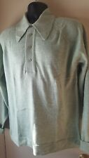 Vintage Puritan Soft Touch button Color sweater light green mint julep USA SOFT!