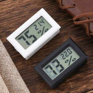 Digital LCD Temperature Mini Humidity Meter Gauge Indoor Thermometers G4P7 Hot