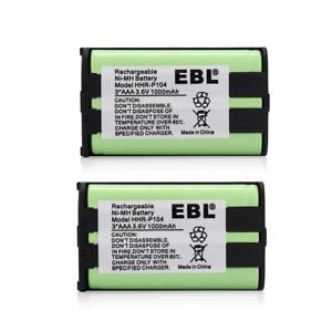 EBL HHR-P104, HHR-P104A, KX-TGA520M,KX-FG6550, KX-FPG391,KX-TG2388B KX-TG2396 2