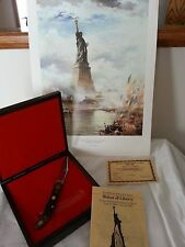 Schrade  Statue of Liberty Commemorative Knife 1886-1986  with PICTURE! # 057