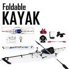Water Sports Foldable Kayak 12ft Lightweight Paddle Boat