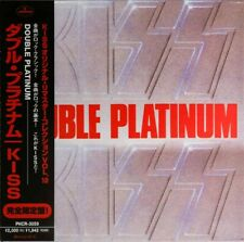 KISS CD - JAPAN REMASTERED - DOUBLE PLATINUM - GATEFOLD - LIKE MINI LP - C139301