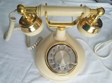 Vintage Rotary Dial French Victoria Princess Style working Telephone