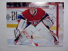 CAREY PRICE Montreal Canadiens SIGNED Autographed 8X10 Photo w/ COA