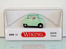 Wiking 080810 - 1:87 - BMW isetta - Blanco Verde - Nuevo en EMB. orig.
