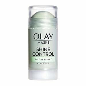 Face Masks by Olay, Shine Control with Tea Tree Extract, 1.7 Oz