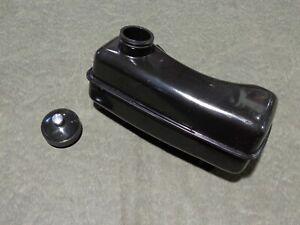 JIFFY ICE DRILL FUEL TANK W/ CAP ice auger MODEL 30 31 LEGEND XT 34 STEALTH STX