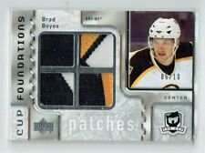 06-07 UD The Cup Foundations  Brad Boyes  /10  Quad Patches
