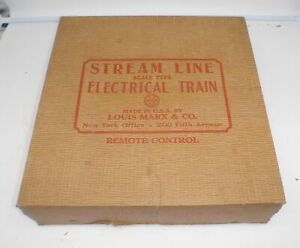 Marx Train New York Central 35150 - Empty Box Only