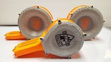 Lot of 2 Nerf N-Strike 35 & 1 x 25 Rounds Drum Magazines Ammo Darts Ships FREE!