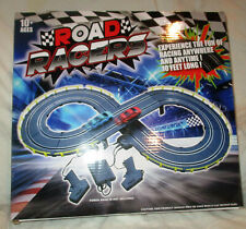 Road Racers Slot Car Racing Set 2 Cars 2 Remotes 10 Feet Track