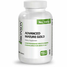Bronson Multivitamin for Seniors Advanced Mature Gold, 60 Tablets