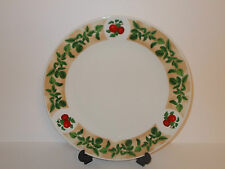 1 x Waterside Fine China Dinner Plate with Apple Fruit Design - Lovely